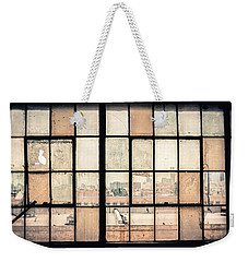 Broken Windows Weekender Tote Bag