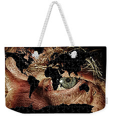 Broken World Puzzle Weekender Tote Bag