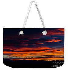 Bronco Sunset Weekender Tote Bag