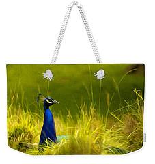 Bronx Zoo Peacock Weekender Tote Bag