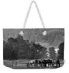 Broodmares Weekender Tote Bag by Joan Davis