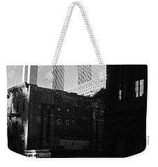 Brooklyn Bridge 1970 Weekender Tote Bag by John Schneider