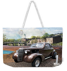 Weekender Tote Bag featuring the photograph Brown Classic Collector by Liane Wright