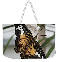Brown Clipper Butterfly #2 Weekender Tote Bag by Judy Whitton
