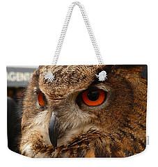 Brown Owl Weekender Tote Bag by Vicki Spindler