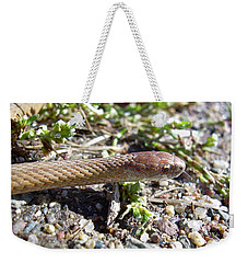 Brown Snake Weekender Tote Bag