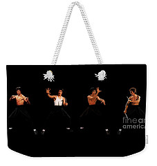 Bruce Lee Weekender Tote Bag by Doc Braham