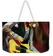 Bruce Springsteen Artwork Weekender Tote Bag by Sheraz A