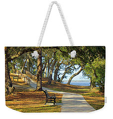 Weekender Tote Bag featuring the photograph Brunswick Town by Cynthia Guinn