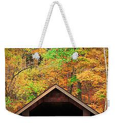 Brush Creek Covered Bridge Weekender Tote Bag