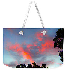 Weekender Tote Bag featuring the photograph Brush Strokes by Zafer Gurel