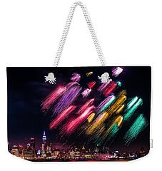 Brushes Weekender Tote Bag by Mihai Andritoiu