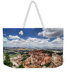 Bryce Point Weekender Tote Bag by Tammy Wetzel