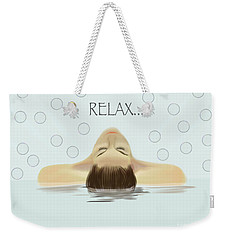 Bubble Bath Luxury Weekender Tote Bag