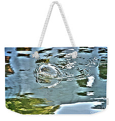 Bubble Reflection Weekender Tote Bag