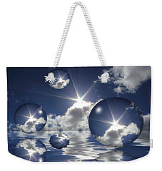 Bubbles In The Sun Weekender Tote Bag by Shane Bechler