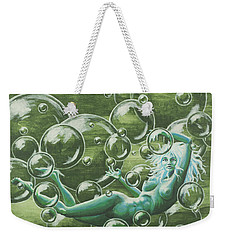 Bubbles Weekender Tote Bag by Jack Malloch