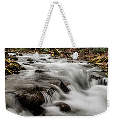 Bubbling Mountain Stream Weekender Tote Bag