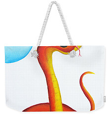 Bubbly Baby Snake Weekender Tote Bag