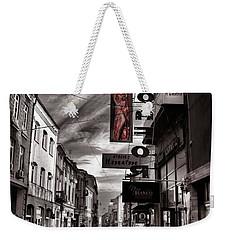 Bucharest Street Weekender Tote Bag