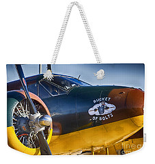 Bucket Of Bolts Weekender Tote Bag by Douglas Barnard