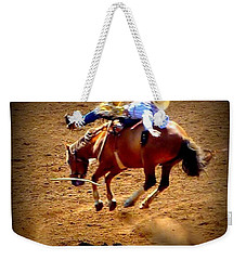 Bucking Broncos Rodeo Time Weekender Tote Bag