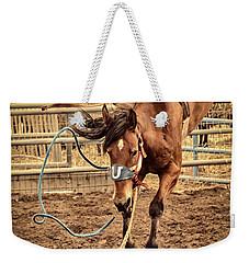 Bucking Weekender Tote Bag by Caitlyn  Grasso