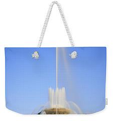 Buckingham Fountain Weekender Tote Bag by Adam Romanowicz