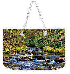 Bucks Creek Weekender Tote Bag by Kenny Francis