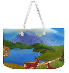 Buck's Domain Weekender Tote Bag