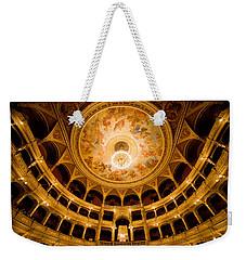 Budapest Opera House Auditorium Weekender Tote Bag