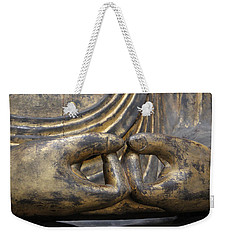 Weekender Tote Bag featuring the photograph Buddha 3 by Lynn Sprowl