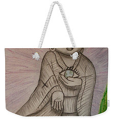 Buddha And The Eye Of The World Weekender Tote Bag