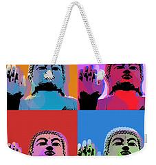 Buddha Pop Art - 4 Panels Weekender Tote Bag