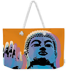 Buddha Pop Art - Warhol Style Weekender Tote Bag