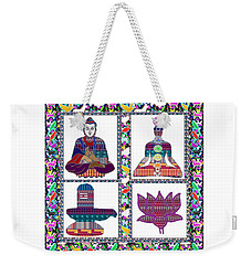 Buddha Yoga Chakra Lotus Shivalinga Meditation Navin Joshi Rights Managed Images Graphic Design Is A Weekender Tote Bag