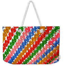 Buddha's Birthday Lanterns Weekender Tote Bag