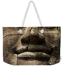 Weekender Tote Bag featuring the photograph Buddha's Compassion by J L Woody Wooden