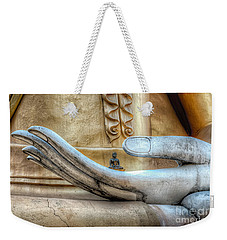 Weekender Tote Bag featuring the photograph Buddha's Hand by Adrian Evans