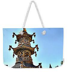Buddhist Bells Weekender Tote Bag