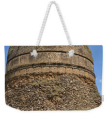 Weekender Tote Bag featuring the photograph Buddhist Religious Stupa Horse And Mules Swat Valley Pakistan by Imran Ahmed