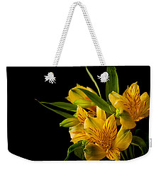 Weekender Tote Bag featuring the photograph Budding Flowers by Sennie Pierson