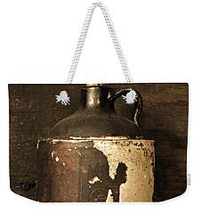 Buddy Bear Moonshine Jug Weekender Tote Bag