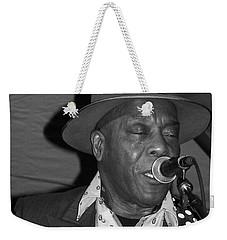 Buddy Guy Sings The Blues Weekender Tote Bag
