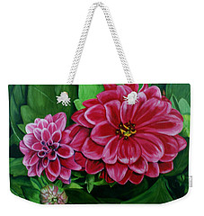 Buds And Blossoms Weekender Tote Bag