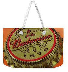 Budweiser Cap Weekender Tote Bag