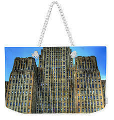 Buffalo City Hall Weekender Tote Bag by Tammy Wetzel