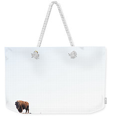 Buffalo Country Weekender Tote Bag by James BO  Insogna
