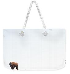 Buffalo Country Weekender Tote Bag