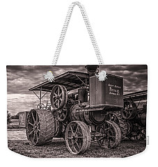Buffalo Pitts Steam Traction Engine Weekender Tote Bag